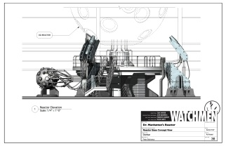 Dr. Manhattan's Reactor Study