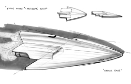Space Ship Study