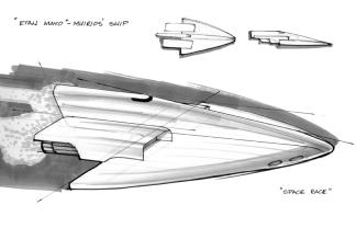 Space Ship Study