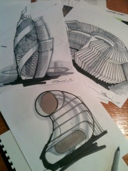 Tomorrowland building concepts