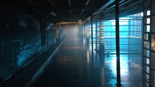 Alien Super-Max Detention Corridor