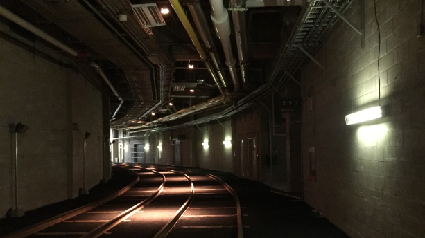 Subway Tunnel (stadium basement)