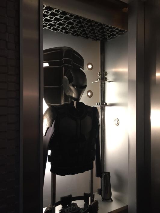 Secret Guardian Suit Compartment