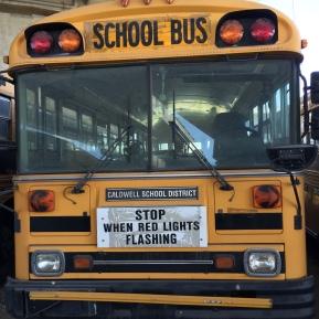 School Bus - Pre-Transformation